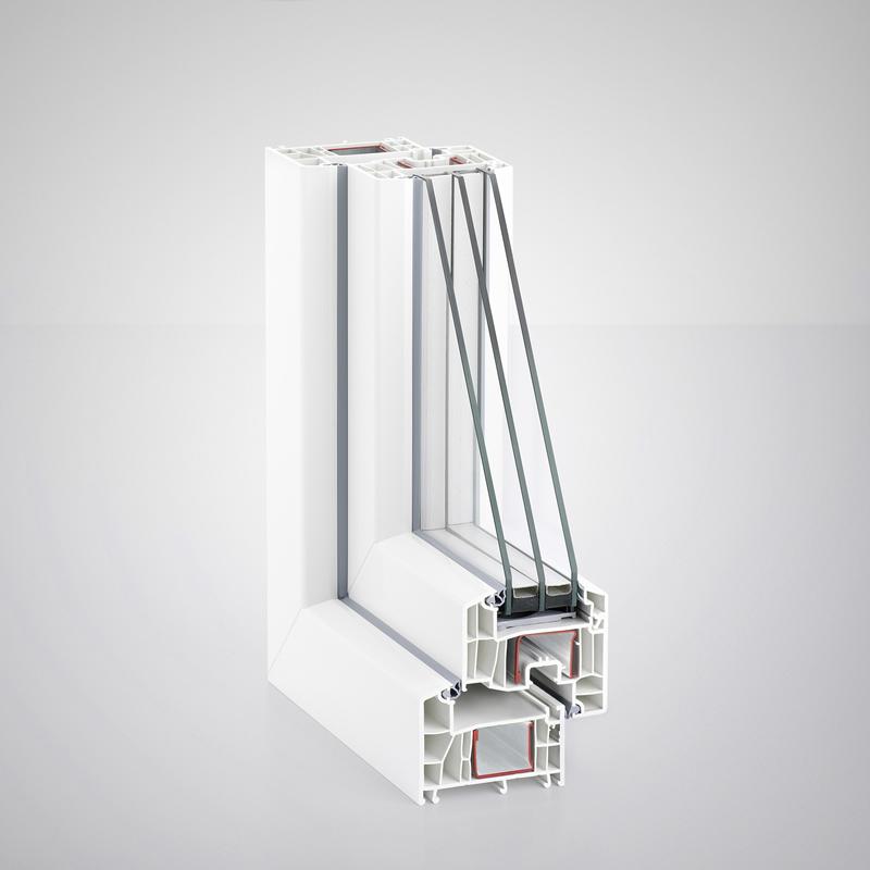 нов профил дограма Rehau Euro Design 86 Plus